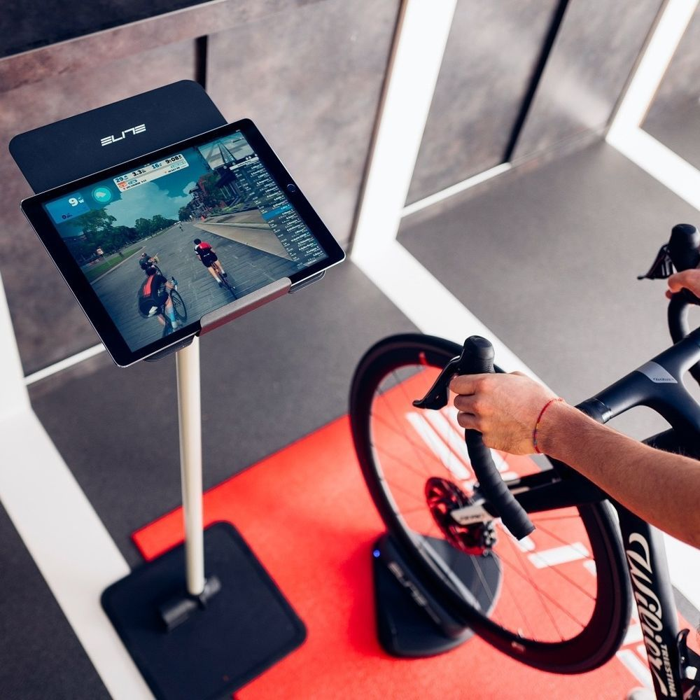 Riding indoors with Sterzo Smart