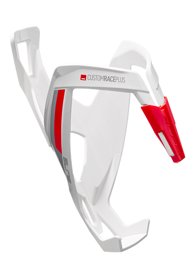 WHITE GLOSSY - RED GRAPHIC